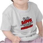 Soy en amor con alguien psoriasis de lucha camisetas