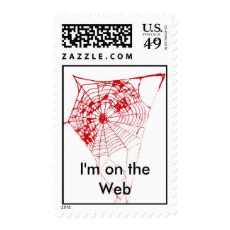 Soy en el Web el Web de araña de Zazzle del MUSEO Sello