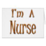 Soy enfermera felicitación