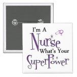 Soy enfermera pin cuadrado