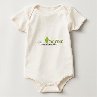 Soy engranaje androide body para bebé