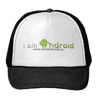 Soy engranaje androide gorro