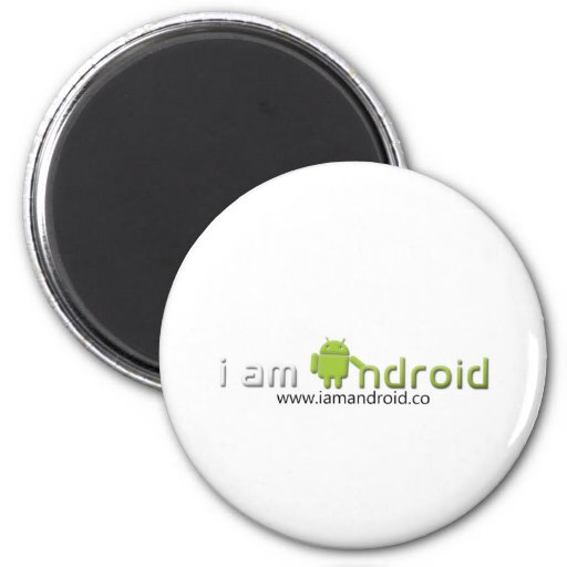 Soy engranaje androide imán de frigorifico