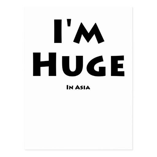 Soy enorme ........... En Asia Postal