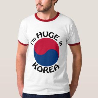 Soy enorme en Corea Playera