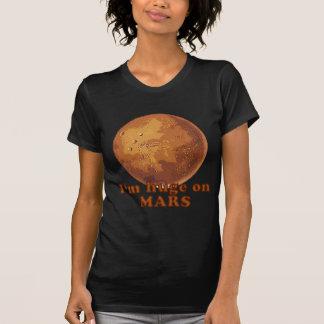 Soy enorme en el humor de Marte Martian Camisetas