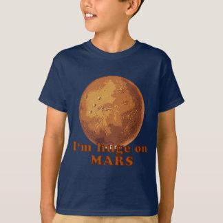 Soy enorme en el humor de Marte Martian Playera