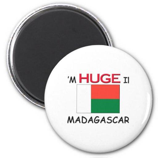 Soy ENORME en MADAGASCAR Imán Redondo 5 Cm