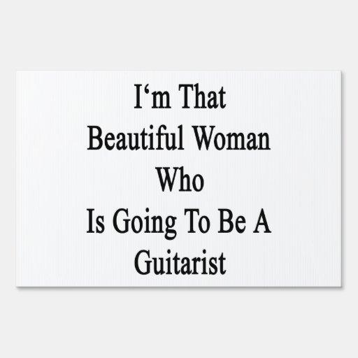 Soy esa mujer hermosa que va a ser un Guit