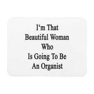 Soy esa mujer hermosa que va a ser un Org Imán Flexible