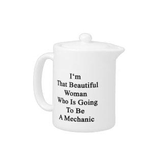 Soy esa mujer hermosa que va a ser una Mech