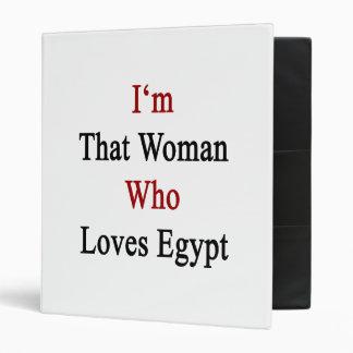 Soy esa mujer que ama Egipto