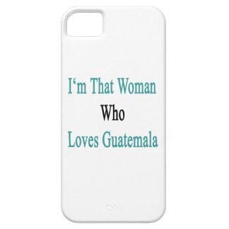 Soy esa mujer que ama Guatemala iPhone 5 Funda