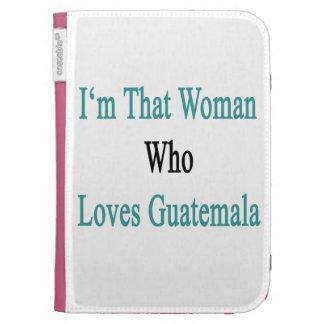 Soy esa mujer que ama Guatemala