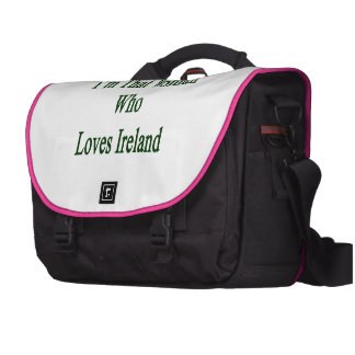 Soy esa mujer que ama Irlanda Bolsas Para Portátil