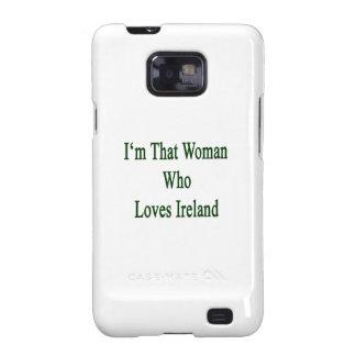 Soy esa mujer que ama Irlanda Galaxy SII Carcasas