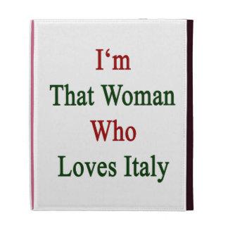 Soy esa mujer que ama Italia