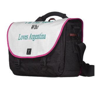 Soy esa mujer que ama la Argentina Bolsa Para Ordenador