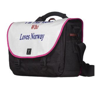 Soy esa mujer que ama Noruega Bolsas Para Portatil