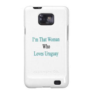 Soy esa mujer que ama Uruguay Samsung Galaxy SII Carcasas