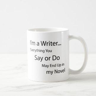 Soy escritor… taza