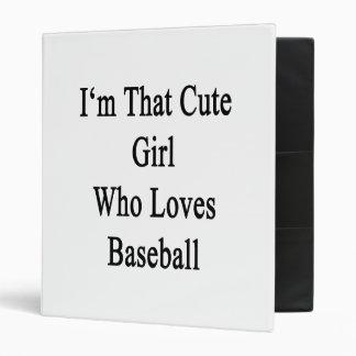 Soy ese chica lindo que ama béisbol