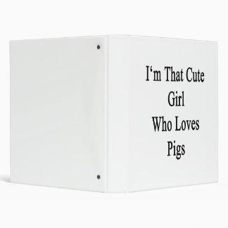 Soy ese chica lindo que ama cerdos