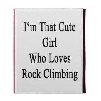 Soy ese chica lindo que ama la escalada