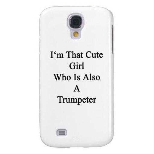 Soy ese chica lindo que es también un trompetista funda para galaxy s4