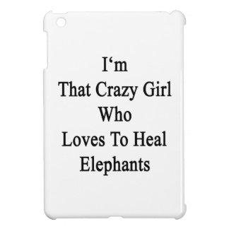 Soy ese chica loco que ama curar elefantes