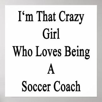 Soy ese chica loco que ama el ser un coche del póster