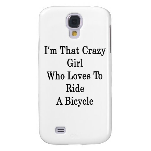 Soy ese chica loco que ama montar una bicicleta