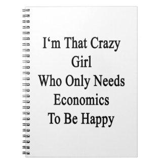 Soy ese chica loco que necesita solamente la spiral notebook
