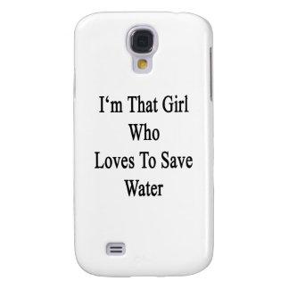 Soy ese chica que ama ahorrar el agua funda para galaxy s4