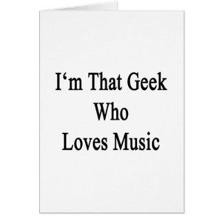 Soy ese friki que ama música felicitaciones