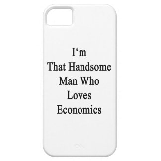 Soy ese hombre hermoso que ama la economía iPhone 5 carcasa