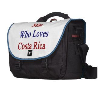 Soy ese hombre que ama a Costa Rica Bolsas De Ordenador