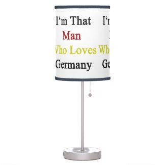 Soy ese hombre que ama Alemania