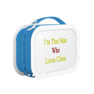 Soy ese hombre que ama China