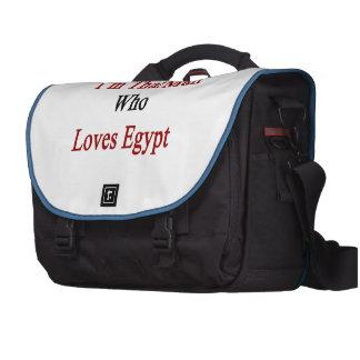 Soy ese hombre que ama Egipto Bolsas Para Portatil