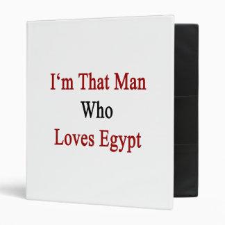 Soy ese hombre que ama Egipto
