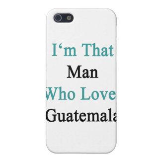 Soy ese hombre que ama Guatemala iPhone 5 Protector