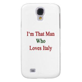Soy ese hombre que ama Italia