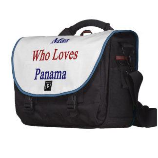 Soy ese hombre que ama Panamá Bolsa Para Ordenador