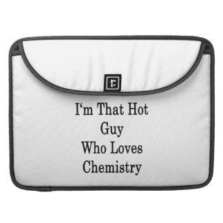 Soy ese individuo caliente que ama química funda para macbooks