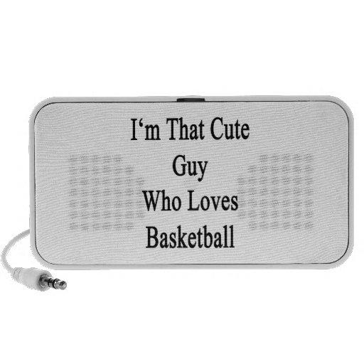 Soy ese individuo lindo que ama baloncesto mini altavoces