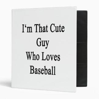 Soy ese individuo lindo que ama béisbol