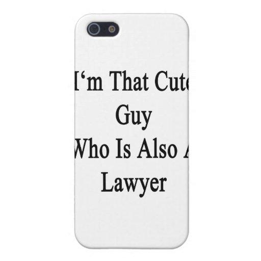 Soy ese individuo lindo que es también abogado iPhone 5 cobertura