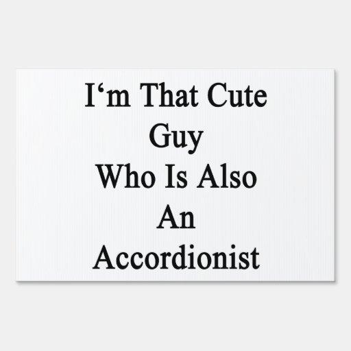 Soy ese individuo lindo que es también acordeonist