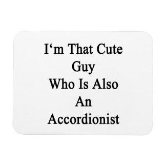 Soy ese individuo lindo que es también acordeonist imán flexible